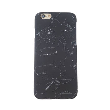 Constellations Phone Case - iPhone 5, iPhone 6/6s, iPhone 6 Plus/6s Plus - Matte Phone Case - Universe - Galaxy - Stars - Zodiac