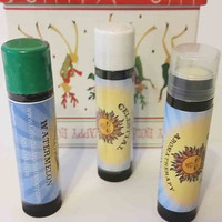 Vegan lip balm, Alternative Healing, Holistic Essential Oil, handmade, Lip Balm of the Month Club