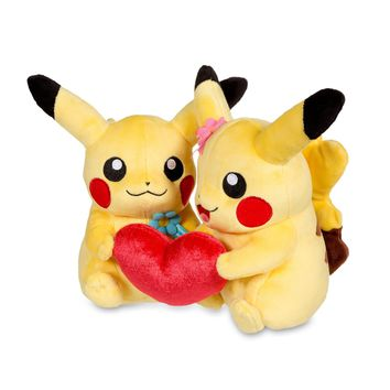 Perfect Pair Pikachu Poké Plush (Standard Size)