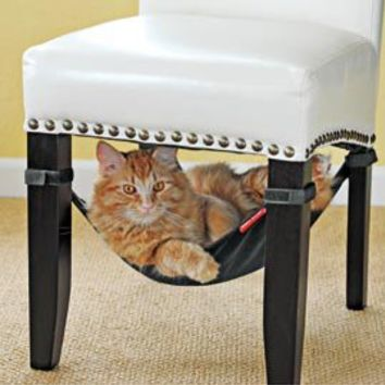 Cat Crib, Cat Bed, Cat Hammock, Chair Sling for Cat | Solutions
