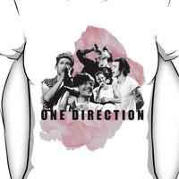 One Direction Watercolor! Women's T-Shirt