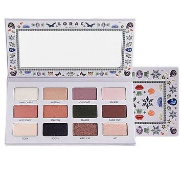 DCK4S2 LORAC White 12 Colors Eye Shadow [10975215628]