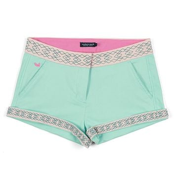 The Hannah Short in Mint by Southern Marsh