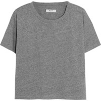 Madewell - Cropped cotton-jersey T-shirt