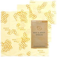 3 Pack Assorted Beeswax Wraps | Shop Sustainably on EarthHero!