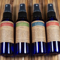 Archangel Sprays Set - Invoke the Angels - Protection Healing Guidance & Inspiration