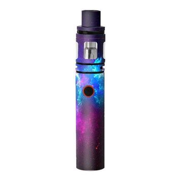ONETOW Skin Decal Vinyl Wrap for Smok Stick V8 Pen Vape stickers skins cover/ Galaxy Space Gasses