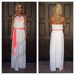 Lace & Neon Embroidered Maxi Dress