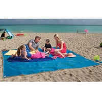 The Four Person Beach Mat - Hammacher Schlemmer