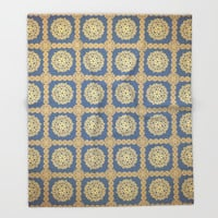 Arabesque Throw Blanket by Octavia Soldani | Society6