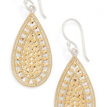 Anna Beck 'Open Metal' Teardrop Earrings | Nordstrom