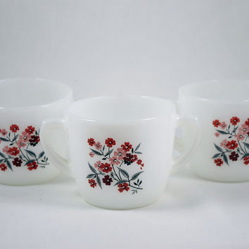 Fire King Primrose Sugar Bowl