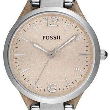 Fossil Georgia Sand Leather ES2830 Women's Watch