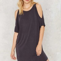 The Soft Parade Cold Shoulder Dress