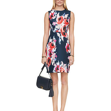 Kate Spade Hazy Floral Della Dress Hazy Floral