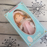 Knickerbocker Dream Along Heather Doll Holly Hobbie Doll Soft Doll Collectible Doll Vintage Doll Knickerbocker Doll