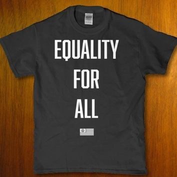 Equality for all equal rights for all American citizens unisex t-shirt