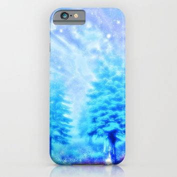 winter sky iPhone & iPod Case by Haroulita