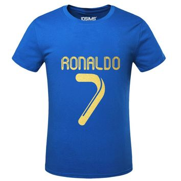 World Cup Cristiano Ronaldo men's T-shirt t-shirt man t shirt summer 2016 bodybuilding compression shirt
