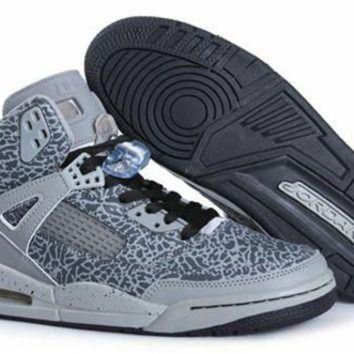 Cheap Air Jordan 3.5 Spizike Retro Men Shoes Grey White