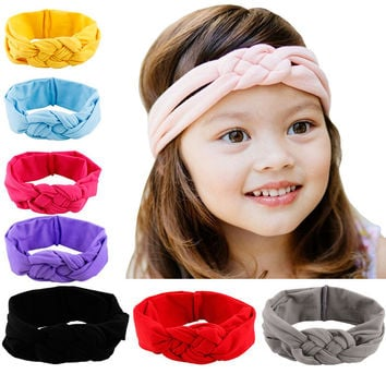 Baby Kids Girls Elastic Headband Hair Accessories Toddler Head Wrap  baby girl hair accessories bandeau cheveux  #157