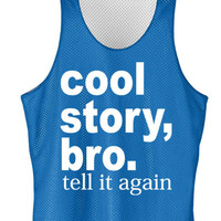 Cool story bro mesh jersey