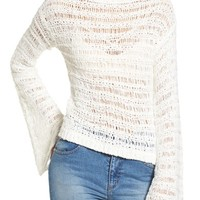 Band of Gypsies Ladder Stitch Sweater | Nordstrom