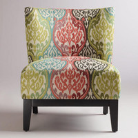 Rio Multicolored Ikat Darby Chair | World Market