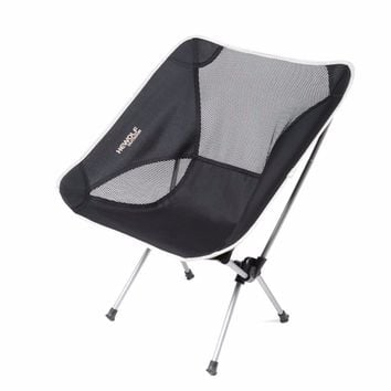 Moon Lence Ultralight Portable Folding Camping Backpacking Chair Backrest Chair with Carry Bag for Outdoor Activities