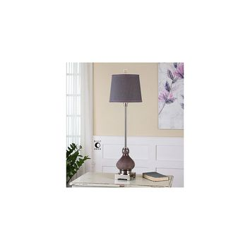 Uttermost Charoite 36'' H Buffet Table Lamp with Round Shade