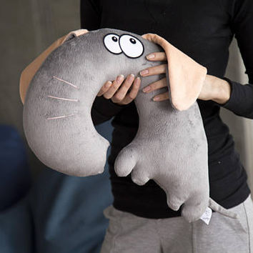 Plush Elephant, Plush Toys, Elephant Toy, Cute Plushie Animals, Funny Animal, Neck Pillow