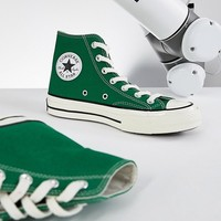 Converse Chuck '70 hi trainers in green at asos.com