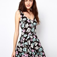 Vero Moda Swing Dress In Floral Print