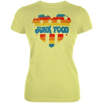 Junk Food - Heart Juniors T-Shirt