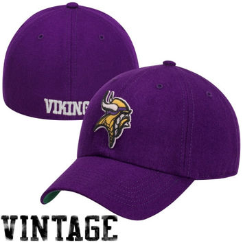 892a9bc2a3dc7 47 Brand Minnesota Vikings Brooksby Franchise Fitted Hat - Purple