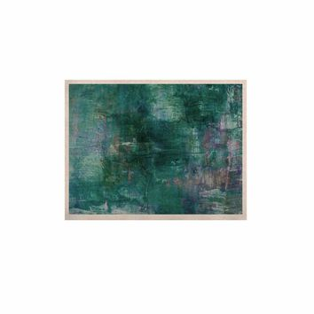 """Ebi Emporium """"Blue Planet"""" Teal Blue Painting KESS Naturals Canvas (Frame not Included)"""