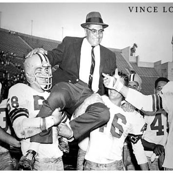 Vince Lombardi Football Coach Poster 11x17