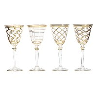 Vietri Elegante Set of 4 Wine Glasses | Nordstrom