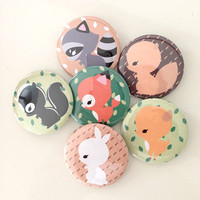Sharodactyl Forest Pin Set (six)