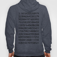 pi white - never ending story Hoody by Steffi Louis-findsFUNDSTUECKE | Society6