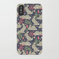 Bunny Garden iPhone Case by Noonday Design