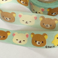 Sticky Washi Tape | Japan Adhesive Tape | Decorative Masking Tape | Scrapbooking Tools Favor Stationery | Rilakkuma Bear 10m K19