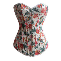 Body Sexy Waist Shaper Stylish Print Push Up Corset [4965296964]