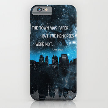 Paper Towns John Green iPhone & iPod Case by Denise