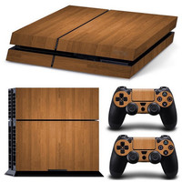 Wooden Skin - PS4 Protector