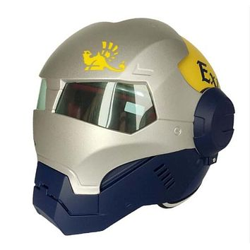 MASEI 610 Flip Up Superhero-Style 3/4 Face ABS Motorcycle Helmet