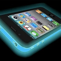 iPhone 5 Glow in the Dark (Glow Blue) Silicone Protective Case