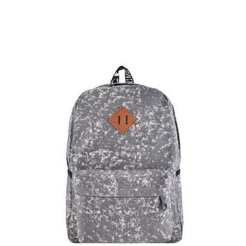 CUPUP9G Grey Acid Wash Backpack