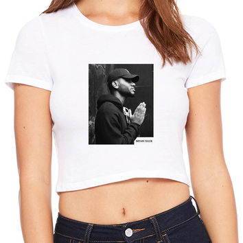Bryson Tiller Photography Crop T-shirt