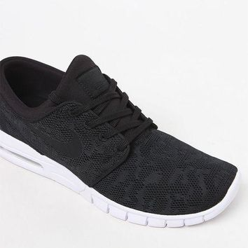 separation shoes 77bc8 7e693 CREYON Nike SB Stefan Janoski Max Black and White Shoes